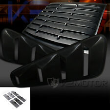 05-14 Mustang GT 2DR Coupe Black Side Vent+Rear Window Scoop Louver Cover