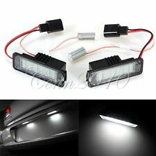 No Error LED Licence Number Plate Light For VW Golf 5 6 Passat Scirocco Porsche
