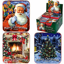 MERRY CHRISTMAS MINTS TIN SWEET ADULT SECRET SANTA GIFT BOY GIRL STOCKING FILLER