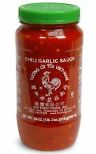 Delicious Hot Chili Garlic Sauce 8 oz. Huy Fong brand