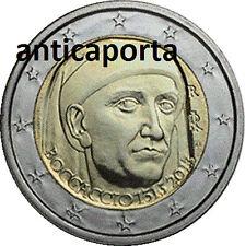 2 Euro Boccaccio Anniversario Commemorativo Italia 2013 700 anni dalla nascita