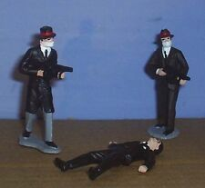 TOY SOLDIERS  TIN MAFIA MURDER INC. HITMEN SET #2  3pc 54MM