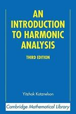 Cambridge Mathematical Library: An Introduction to Harmonic Analysis by...