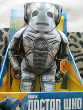 Doctor who  Bronze colour  cyberman  soft toy  figure with lights and sounds