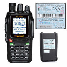 Wouxun KG-UV8D V/U 134-174/400-520MHz Ham Two-way Radio   2600mAh Battery
