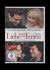 DVD LIEBE BRAUCHT KEINE FERIEN - KATE WINSLET + CAMERIN DIAZ + JACK BLACK * NEU