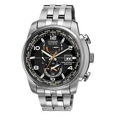 Citizen AT9010-52E Mens Eco Drive World Time AT Atomic Radio Controlled Watch