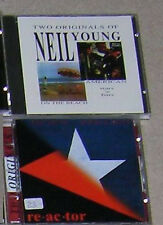 Neil Young 4Alben 2CD On the Beach American Stars'n'Bars Time Fades Away Reactor