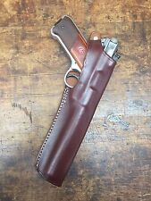 "Brown Leather Holster Ruger Mark I II III IV with 6 7/8"" inch barrel  #9260"