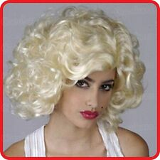 WIG -MARILYN MONROE STYLE -BLONDE SEXY GLAMOUR PARTY COSTUME COSPLAY DRESS UP