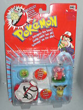 POKEMON Schnapper Pokeball + Evoli + Schlurp Figur NEU & OVP Hasbro 2000