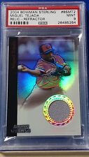 Miguel Tejada - 2004 Bowman Sterling Relics Refractor PSA 9  Pop 2 none higher!