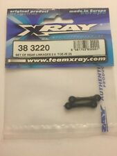 Xray 383220 Set Of Rear Linkages 2.5 Toe In (2)