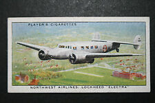 Northwest Airlines   Lockheed Electra  Original 1930's Card # VGC