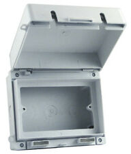 IP65 2 Gang Socket Enclosure/Box - Europa ECWSK2 - FREE P&P