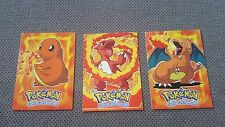 NM/M Topps Charmander Charmeleon Charizard Movie Edition Pokemon Cards