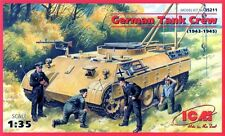 GERMAN TANK (REPAIR) CREW (TO PANTHER, TIGER, PANZER IV ETC) 1/35 ICM