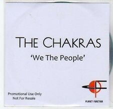 (CA89) The Chakras, We The People - 2011 DJ CD