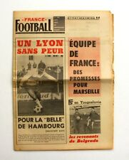 France Football n°1149 - 1968 - Lyon - Milutinovic - Equipe de France - Belgrade