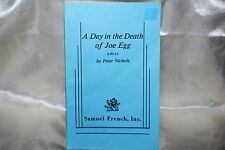 A Day In The Death Of Joe Egg Play Book Nichols Samuel French1967  Free Ship