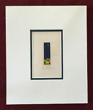 Gerardo Garcia Ramis Serigrafia De Noche Miniature Puerto Rico 1985