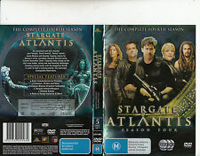 Stargate Atlantis-2004/9-TV Series USA-The Complete Fourth Season-[5 Disc]-DVD