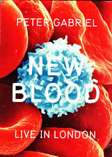 PETER GABRIEL new blood live in london DVD NEU OVP/Sealed