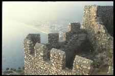 047137 Seljuk Ramparts Alanya 1221 AD A4 Photo Print