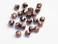 DIY 3/4/6/8mm Bicone Faceted Crystal Jewelry Findings Glass Loose Spacer Beads