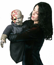 HALLOWEEN ZOMBIE ZACK PUPPET PROP YARD DECORATION HAUNTED HOUSE