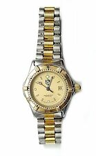 Ladies Tag Heuer Watch  2tone  Band Series 2000 , Gold Face, Currently Working
