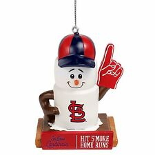 St. Louis Cardinals Smores Christmas Tree Holiday Ornament Hit Smore Home Runs