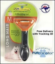 FURminator Deshedding Tool Brush Comb for Medium DOGS Long Hair Pet 100% GENUINE