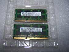 SAMSUNG 4GB DDR3 PC3-8500S 1066 MHz Laptop RAM (2x 2Gb)