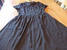 "NWT! ""SPEECHLESS"" LADIES S/S BLACK LACE ACCENT DRESS SIZE M  $48."