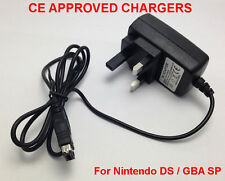3 CLAVIJAS RU ADAPTADOR DE CARGADOR DE RED PARA NINTENDO DS- GAMEBOY ADVANCE GBA