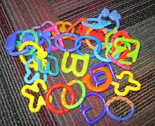 LOT OF KIDS II BABY LOTS OF LINKS TOY TEETHING RINGS / LINKS, LARGE LOT OF LINKS
