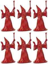 DFC Six (6) Wizards - 'Dragonriders of the Styx' - unpainted plastic