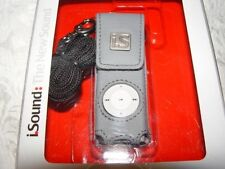 IPOD SHUFFLE CASE LEATHER-NEW IN SEALED BOX-BROWN OR GRAY-YOUR CHOICE OF 1