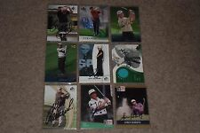 LOT OF (27) GREATEST LEGENDS OF GOLF SIGNED AUTOGRAPHED CARDS HOFers, LEGENDS+