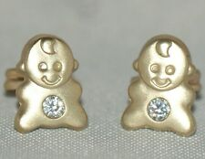 Babies [ 9ct. Gold ] Stud - Earrings
