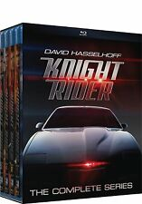 Knight Rider Complete Collection Series 1-4 Blu-ray 1 2 3 4 Brand NEW KITT 80's