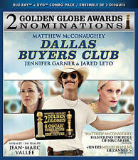 Dallas Buyers Club (Blu-ray/DVD, 2014, 2-Disc Set, Canadian)