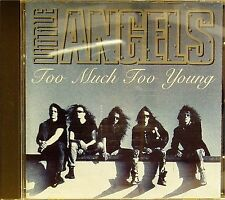 LITTLE ANGELS 'TOO MUCH TOO YOUNG' 4-TRACK CD SINGLE