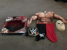 Brock Lensar Mask Padded Muscle Suit And wwe World Heavy Weight Champion belt