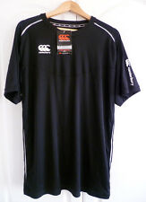 Canterbury of New Zealand Men's Ionx Elite Technical Dry Tee Black Size XL