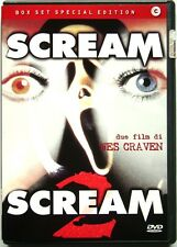 Dvd Scream box set - Special Edition 2 dischi di Wes Craven Usato raro