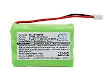 Nueva batería para Audioline Baby Care V100 g10221gc001474 gp100aaahc3bmj Ni-mh