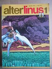 ALTER LINUS n°1 1976 Lo Scimmiotto di Manara Pisu  [G417]