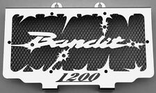"Radiator cover radiator guards suzuki 1200 bandit 96 > 00 ""hold up"" + noir grille"